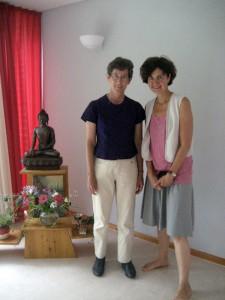 Ariya Baumann und Ulrike-Kaschel